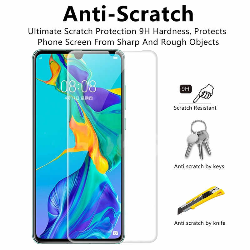 2PCS Screen Protector for P30 P10 P20 pro Mate 10 20 lite glass film Tempered Protective for Huawei P smart 2019 P20 P30 Lite