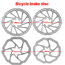 2Pcs G3 HSI Bicycle BrakeCS Sweep Disc Brake Block Lining Rotors Mtb Bike Brake Pad160/180mm With 12Bolts System Disc Bike Parts