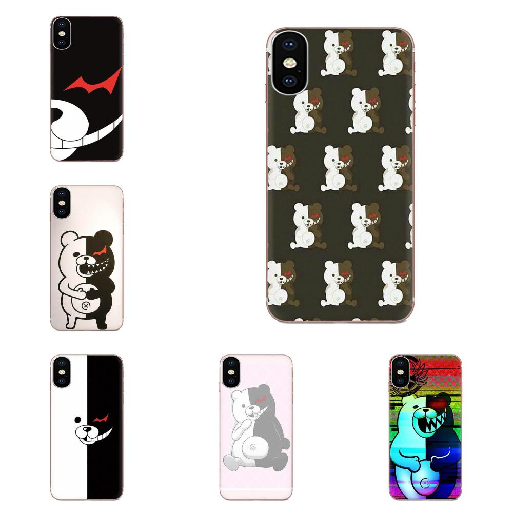 Pattern Phone Cases For Galaxy Grand A3 A5 A7 A8 A9 A9S On5 On7 Plus Pro Star 2015 2016 2017 2018 Danganronpa Monokuma Design image