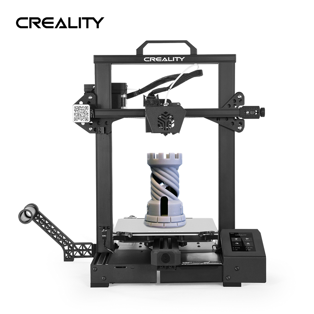 Creality 3D CR 6 SE Upgraded 3D Printer DIY Kit Printing Size 235*235*250mm 4.3in HD Color Touchscreen Silent Motherboard|3D Printers| - AliExpress
