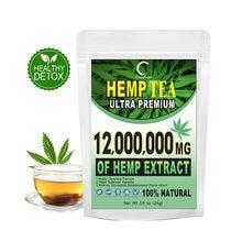 HFU zdrowa herbata konopna Detox 100% czysty naturalny Detox herbata na odchudzanie odchudzanie apetyt tłumiący pomoc sen i stres