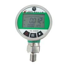 New Original 0-1.6MPA Digital Pressure Gauge Meter Stainless Steel Hydraulic Pressure Gauge High Accuracy Pressure Meter