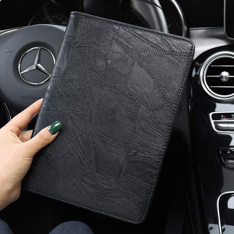For iPad Luxury Silicon Leather for Business A2200 ipad Case A2232 Cover Smart 10.2 2019