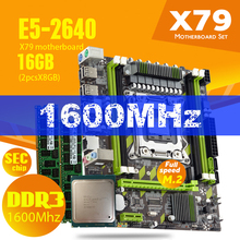 Combos Xeon E5 2640 Atermiter X79x79g Memory-Ddr3-Ram with CPU 2pcs 8GB--16GB 1600mhz/Pc3/12800r