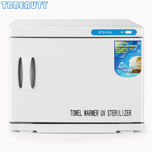 23L 2 in1 Hot Towel Warmer UV Sterilizer Cabinet Disinfectio