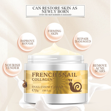 Slime Snail Face Cream Collagen Essence Hyaluronic Acid Anti-Wrinkle Aging Facial Day Cream Moisturi