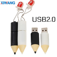 New Super mini Cartoon pencil usb flash drive 32GB 64GB 128GB pen pendrive 16GB 8GB Storage cle memory stick best gift