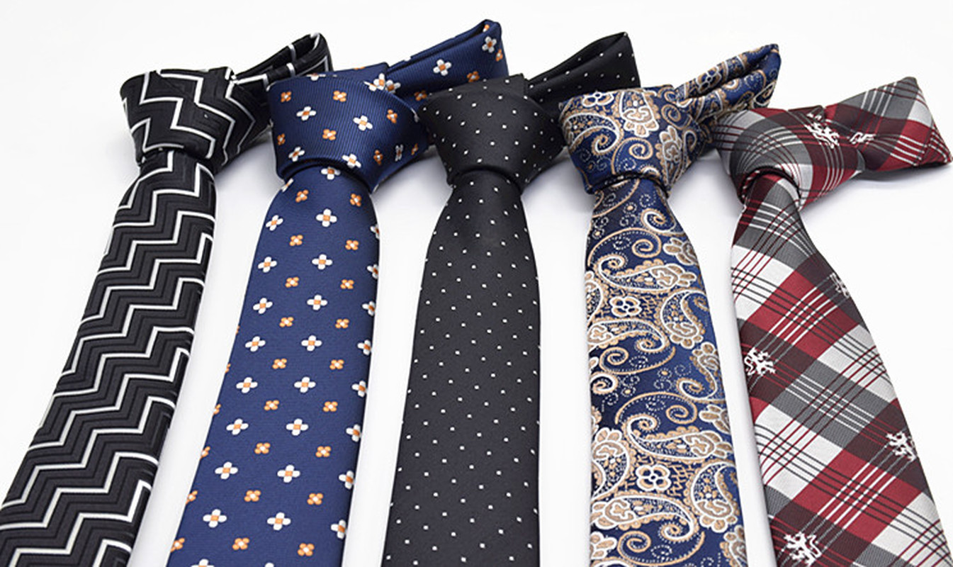 Pugmi Men 39 s Korean version of narrow tie Fashion Leisure Marriage narrow version of 6cm formal Business British small tie in Men 39 s Ties amp Handkerchiefs from Apparel Accessories