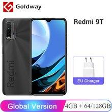 Versão global xiaomi redmi 9t 9 t 4gb 64gb/128gb smartphone snapdragon 662 48mp quad camera 6000mah 6.53