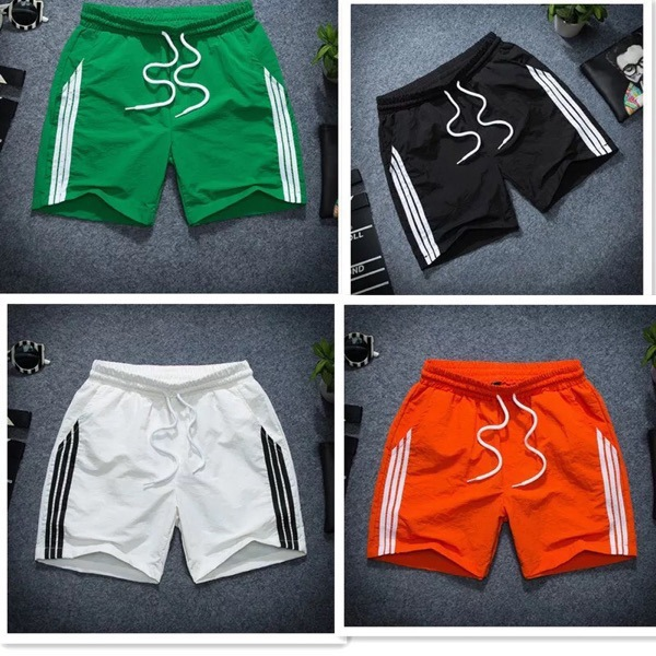 Shorts Men's Summer Shorts Deft Reds Celebrity Style Shorts Casual Quick-Dry Beach Shorts Social Lively Fella Shorts