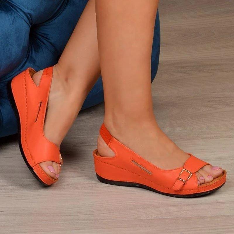 Сандалии гладиаторы mujer 2020; Женская обувь на танкетке; Женские летние удобные сандалии; Сандалии на плоской подошве без застежки; Сандалии на платформе|Боссоножки и сандалии|   | АлиЭкспресс