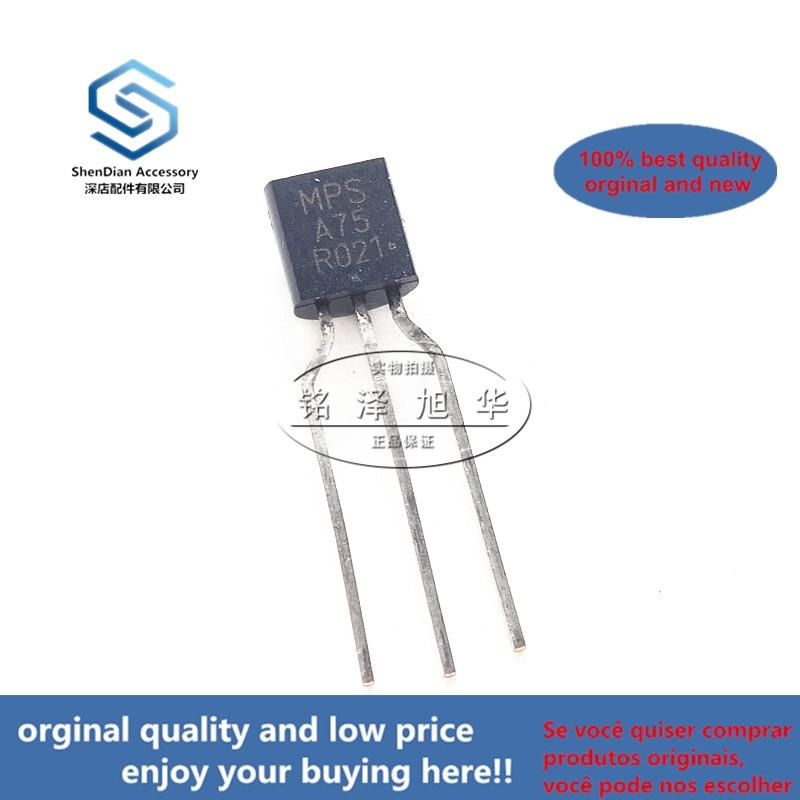 10pcs 100% Orginal New Best Qualtiy MPSA75G MPSA75