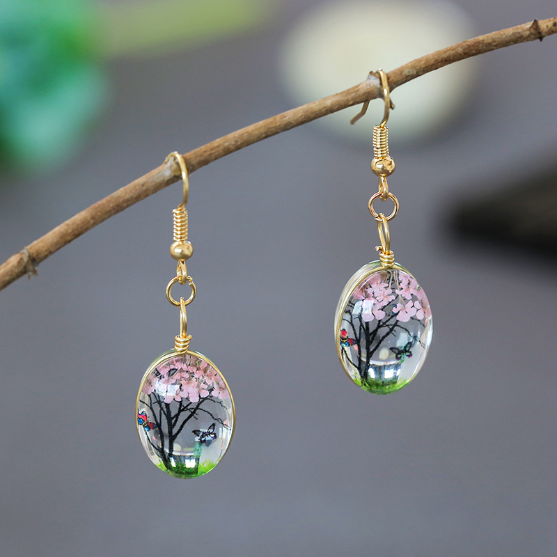 Fashion Retro Tree Earring  Jewellery Accessories Handmade Lucky Amulet Gifts Her Woman