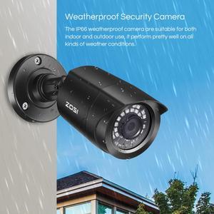 Image 3 - ZOSI CCTV Sistema di H.265 + 8CH 5MP Lite DVR con 4 1080p di Sicurezza Esterna Macchina Fotografica DVR Kit Day/di notte Home Video Sistema di Sorveglianza