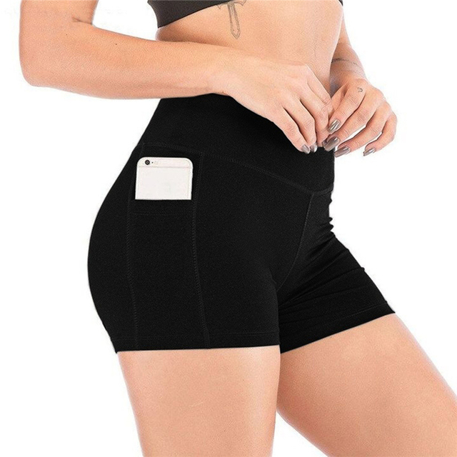 2021 New Short Women's Cycling Shorts Dancing Gym Biker Hot Active Lady Stretch Exercise Sports Running Short 5