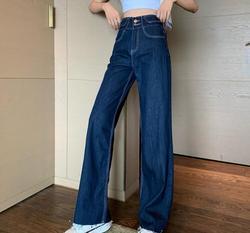 Летняя новая одежда белые эластичные джинсовые штаны с дырками удобные повседневные брюки женские KZ991-01-14