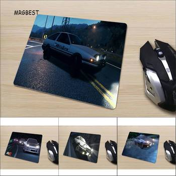 New Anime Car Printed Mouse-pad Cool PC Accessories Small Game Mat Size for 22X18/25X20/29X25CM desk pads image