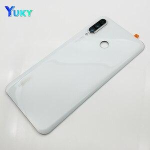 Image 3 - עבור Huawei P30 Lite סוללה כיסוי נובה 4e אחורי זכוכית דלת פנל מקרה עבור Huawei P30 Lite סוללה כיסוי + מצלמה עדשת להחליף