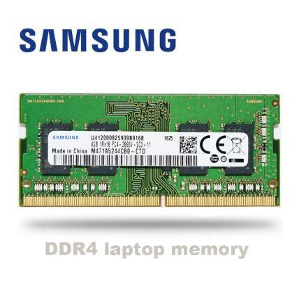 Оперативная память Samsung ddr4 для ноутбука, ОЗУ 4 ГБ, 8 ГБ, 16 ГБ, 32 ГБ, 2666 МГц, sodimm, поддержка памяти ddr4, 4 ГБ, 8 ГБ, 16 ГБ, 32 ГБ, PC4, PC3