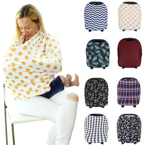 Scarf Privacy-Cover Car-Seat-Stroller Breast-Feeding Baby Infant