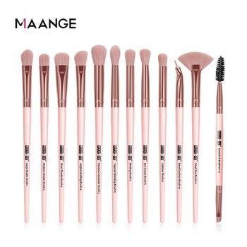 Long Makeup Brushes Set 1