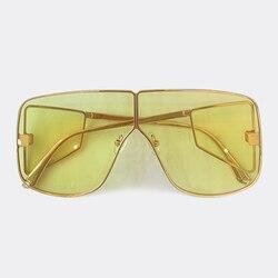 Flache Top Oversize Quadrat Sonnenbrille Männer Frauen Mode Retro Sonnenbrille Männer Vintage Brillen UV400