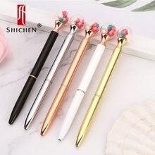 Chichen Цветочная шариковая ручка оригинальная высушенная специальная