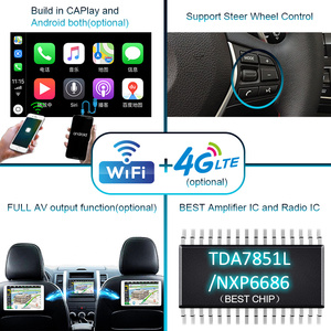 Image 5 - Autoradio 2 DIN Android 10รถวิทยุPX6สำหรับAudi TT MK2 8J 2006 2012 2DINเสียงอัตโนมัติรถสเตอริโอหน้าจอมัลติมีเดีย