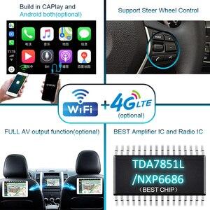 Image 5 - Autoradio 2 DIN Android 10 car radio PX6 For Audi TT MK2 8J 2006 2012 2DIN auto audio Car stereo navigation screen multimedia