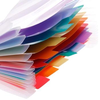 A6 tęczowy rozszerzający się Folder dokumentów 13 kieszonkowy szkolny akordeon Folder L4MD tanie i dobre opinie CN (pochodzenie) Rozszerzenie portfel 18cmx11cm 7 08 quot x 4 33 quot L4MD5AC1100013