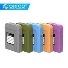 """ORICO 3,5 дюймов защитный чехол для жесткого диска портативный чехол для жесткого диска для внешнего жесткого диска SSD power bank чехол для хранения 3,5"""""""