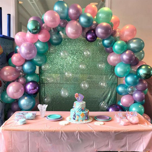 Image 5 - Cyuan בלון קשת זרי ערכות פלסטיק טור Stand תיבת בלון לטקס Ballons שרשרת קליפים עבור יום הולדת מסיבת חתונת דקור