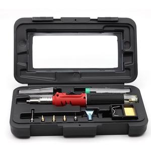 Image 1 - Butane Gas Welding Soldering Irons Welding Pen Burner Blow Torch Gas Soldering Iron Cordless Butane Tip Tool HS 1115K VS MT 100