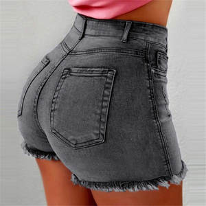 2020 Summer Shorts Women Jean Shorts Fashion Denim Short Straight Women High Waist Tassel hotpants Shorts Femme