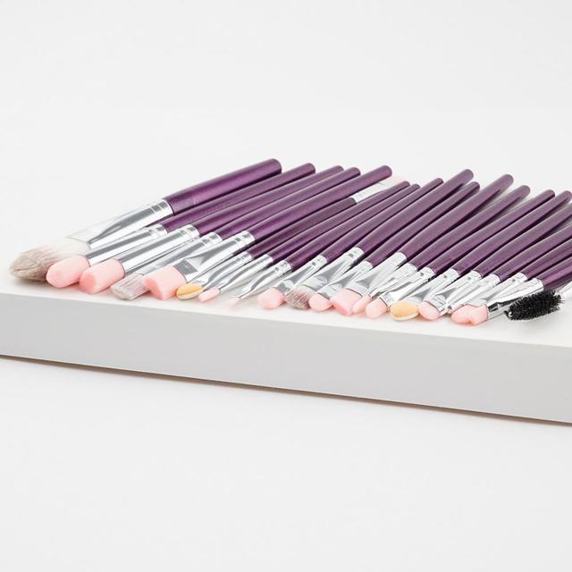 20Pcs Makeup Brush Sets Eye Shadow Foundation Powder Eyeliner Eyelash Lip Make Up Brushes Cosmetic Beauty Tool Kit Hot 5