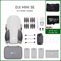DJI-Dron Mini SE/ SE Fly More Combo ultraligero, plegable, 3 ejes, cardán, 2,7 K, cámara, tiempo de vuelo de 30 minutos, disponible
