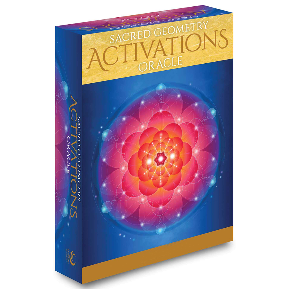 Sacred Geometry Activations Oracle Discover The Language Of Your Soul 44 Cards Deck Set For Beginners Journal Cloth Game Divine