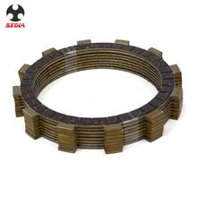 Motocycle Engine Clutch Plates Friction Disc For YAMAHA XJR400 XJR400R FJ600 FZ600 XJ600S YX600 XJ650 XJ700 FZ750 XJ750 XJ750R