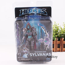 NECA Heroes Of The Storm The Banshee Queen Sylvanas PVC Action Figure Collectible Model Toy(China)