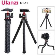 MT 11 Octopus Tripod for DSLR Camera Smartphone Magic Arm W Detachable Ballhead Hot Shoe Phone Clip