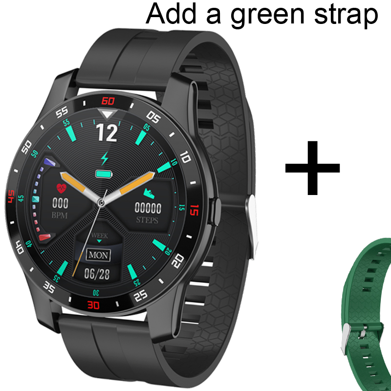 Add green strap