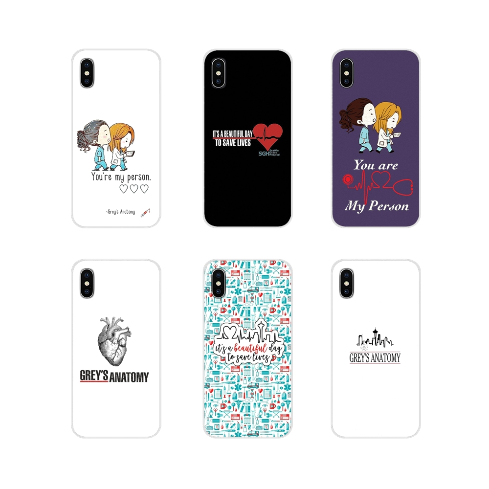 You're My Person Greys Anatomy Accessories Phone Cases Covers For Motorola Moto X4 E4 E5 G5 G5S G6 Z Z2 Z3 G G2 G3 C Play Plus