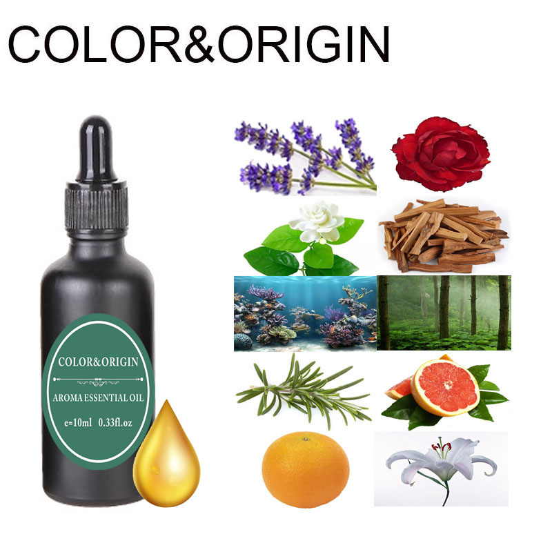 Color&Origin High Concentrations Of Essential Oils Aromatherapy Water Soluble Oil For Humidifier Fragrance Lamp Aroma Diffusers