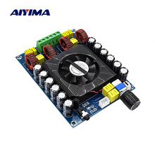 цена AIYIMA TDA7498E Digital Power Amplifier Audio Board 160Wx2 Hifi Stereo Speaker Amplifier Home Theater High Power Mini Amp онлайн в 2017 году