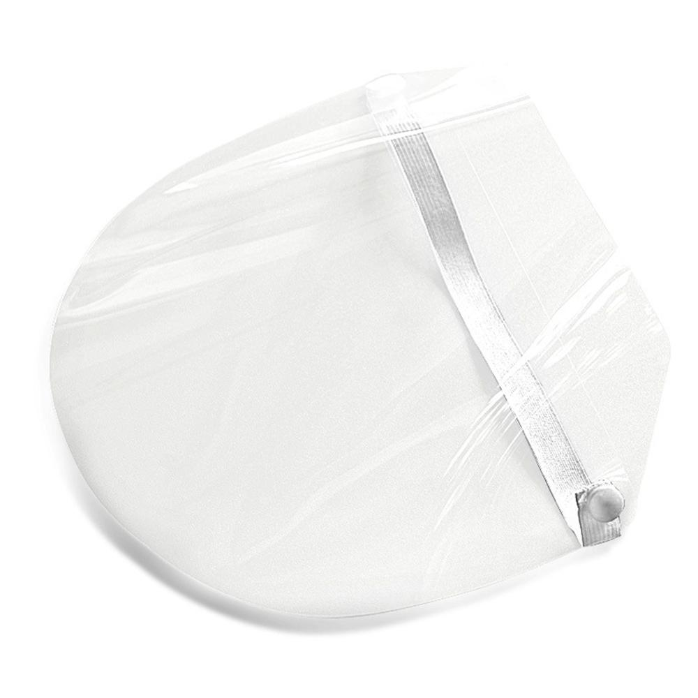 New High-definition Transparent Protective Cap Anti-Saliva Splash Summer Anti-droplet Mask Face Windproof Sun Visor Hat