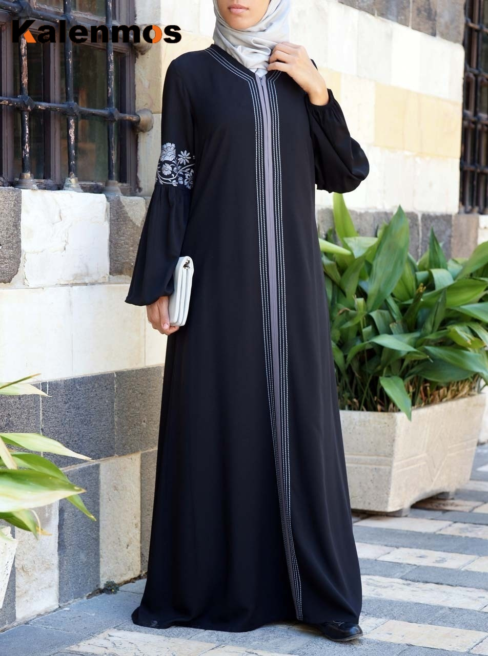 Мусульманское абайя платье для женщин Дубай Арабский Макси Сращивание кафтан Рамадан молиться африканская Турция ОАЭ Исламская одежда дли...