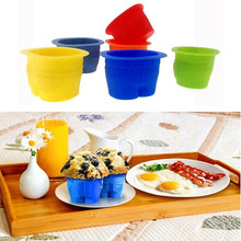 Creative Silicone Mold Cup Jeans Cake Mold DIY Muffin Cupcake Pudding Chocolate Non-stick Baking Tray Kitchen Accessories стоимость