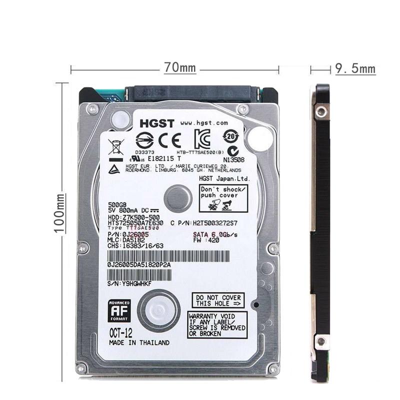HDD 500gb 2.5''SATA USB3.0 Portable Hard Disk Internal Hard Drive 500gb for Laptops Storage Desktop Devices Disco Duro 5200rpm 1