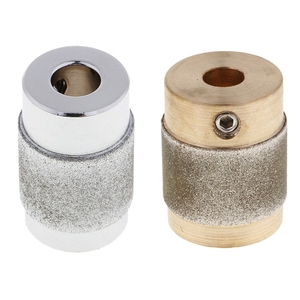 1 Pcs 3/4 Inch Stained Glass Grinder Head Bit Glass Grinding Wheel for Glass Grinder