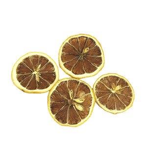 Сушеные цветы, натуральный лимонный ломтик, сушеные фрукты с корицей и стеклянным покрытием, вечный цветок «сделай сам», около 9 г